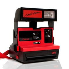 Polaroid 600 Camera Cool Cam Red - Vintage Camera Shop