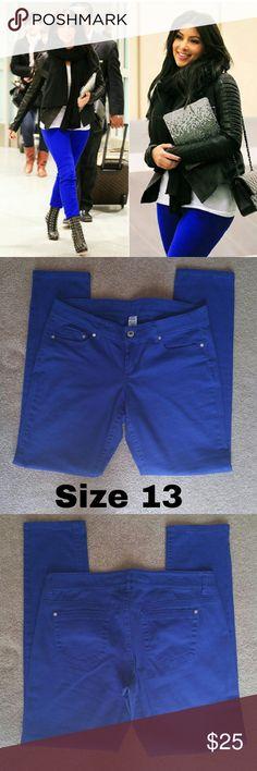 Royal Blue Size 13 Jeans New, never worn only tried them on. No tags  Size: 13 Royal Blue Brand: Blue Asphalt Blue Asphalt Jeans Skinny