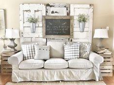 Marvelous Farmhouse Style Living Room Design Ideas 71