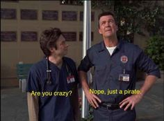 Hahaha I so need to re watch scrubs lol