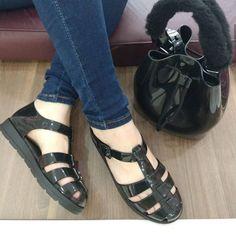 1b4f1f08ba Sandália Zaxy Breeze Preto - Compre agora em www.sapatudo.com.br
