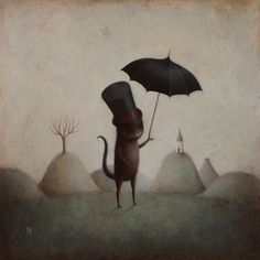 Cat in the Hat from Modern Eden Gallery by Paul Barnes