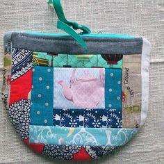 #zakka is #beautiful. #patchwork #quilting #guetermann #tilda #pouch #zipperpouch