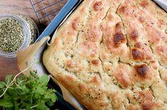 Den beste focacciaen Croissants, Tapas, Mashed Potatoes, Dinner Recipes, Turkey, Scones, Bread, Chicken, Baking