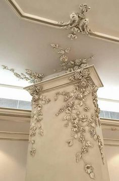 An unconventional use for out architectural appliqués.