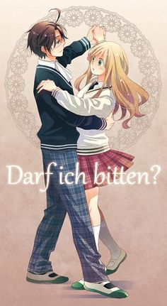 Hetalia AusHun, and I never support this pairing! But this picture is too great, and I do like Austria, just not with Hungary :)