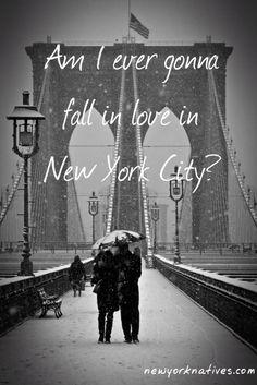 falling in love in NYC