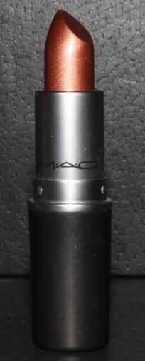 MAC FROST LIPSTICK MAKEUP IN~ANTIQUITEASE~GOLD BRONZE METALLIC! NIB RARE COLOR SUPER SEXY! ONE LEFT
