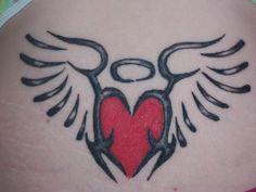 My lower back tattoo