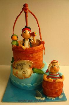 Jake and the neverland pirates Cake and this looks tough lol but would so love someone to do this one for us