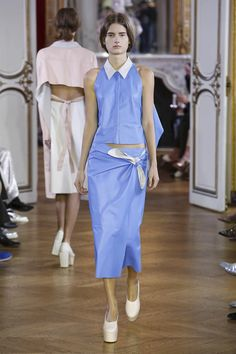 Drome Fashion Show Ready to Wear Collection Spring Summer 2017 in Paris