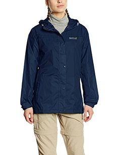 dc215cc4fecd4 Regatta Women's Packlt Waterproof Jacket: Amazon.co.uk: Sports & Outdoors