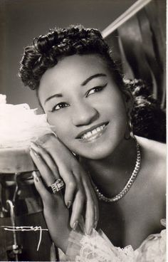 Celia Cruz 1950s