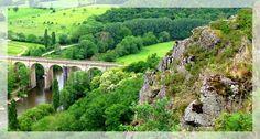 Suisse normande, pays de la région Normandie dans l'Orne et le Calvados.