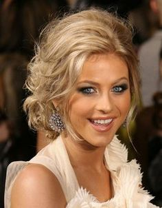 Braid Curly With Updo Hairstyles | Curly Hairstyle Updos fashion Styles 2013 | Celebrity Gossip | Women ...