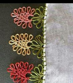 Puntada a crochet, muy sencilla y muy linda además de fácil. Muestra No 17 - C. - Tesettür Mont Modelleri 2020 - Tesettür Modelleri ve Modası 2019 ve 2020 Baby Knitting Patterns, Needle Tatting, Needle Lace, Crochet Unique, Popular Crochet, Crochet Cross, Tatting Patterns, Crochet Videos, Crochet Edgings