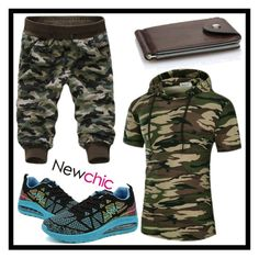"""""""Newchic 7"""" by merisa-imsirovic ❤ liked on Polyvore featuring men's fashion and menswear"""