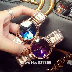 2017 New Hot Women Watch High Quality Luxury Rhinestone Wristwatch Lady Crystal Dress Watches Female Stainless Steel Band clocks Tag a friend who would love this! Visit our store Fast Fashion, Trendy Fashion, Womens Fashion, Crystal Dress, Fashion Accessories, Fashion Jewelry, Fashion Capsule, Stylish Watches, Pinterest Fashion