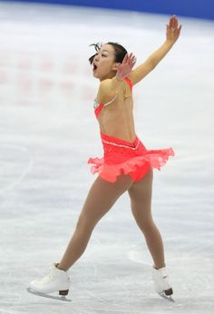 OSAKA, JAPAN - FEBRUARY 09:  Mao Asada of Japan competes in the Women's Short Program during day two of the ISU Four Continents Figure Skati...