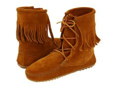 MINNETONKA Tramper Ankle boots in Brown