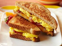 Bacon 'n' Egg Breakfast Grilled Cheese | mrfood.com