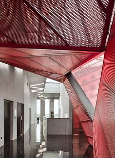 Kulturzentrum in Beaumont-Hague von Périphériques Architectes