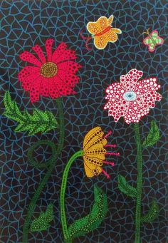 Flower | Yayoi Kusama, Flower (2002)