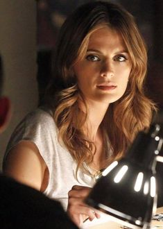 Castle Tv Shows, Kate Beckett, Nathan Fillion, Laugh A Lot, Elle Magazine, Stana Katic, My Beauty, Healthy Skin, Looks Great