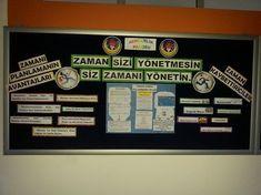 """Ortaokul Rehberlik Panomuzda """"Zaman Yönetimi"""""""