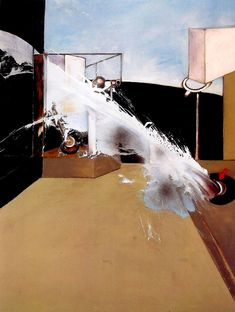 FRANCIS BACON Jet of Water, 1988 Oil on canvas Dimensions 78 x 58 inches (198 x 147.5 cm) Collection Private Collection