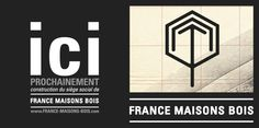FRANCE MAISONS BOIS by chattermark , via Behance
