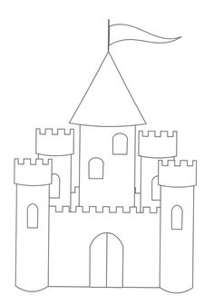 Princess Castle Coloring Page How To Draw A Princess Castle For Kids Castle Coloring Page How To Draw House For Princess Easy. Free Printable Coloring Pages, Coloring Pages For Kids, Free Printables, Coloring Sheets, Kids Coloring, Castle Coloring Page, Princess Coloring Pages, Castle Crafts, Kids Castle