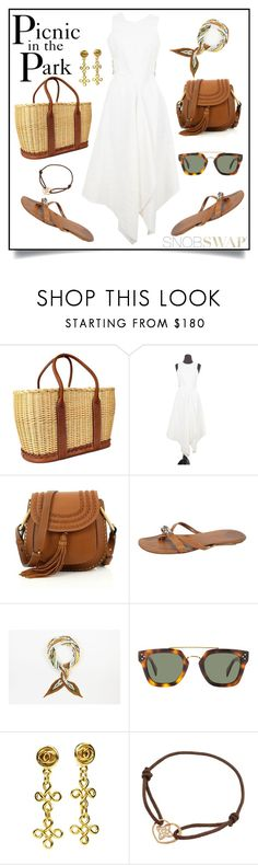 """""""Picnic in the Park"""" by snobswap ❤ liked on Polyvore featuring Hermès, Chanel and Louis Vuitton"""