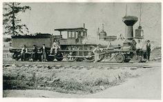 (1853, Aug.) Columbus, Piqua & Indiana Railroad Locomotive