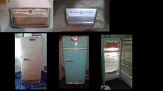 Painting a Vintage Refrigerator.  My 1945 GE fridge was a rusty mess. I named her Betty, gave her a new gasket and paint. LOVE her.