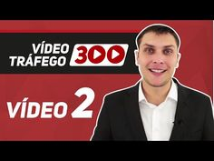 O método #Vídeo Tráfego 300 é um plano de treinamento e acompanhamento para levar você do zero no #YouTube para a geração de até 300 leads por dia.