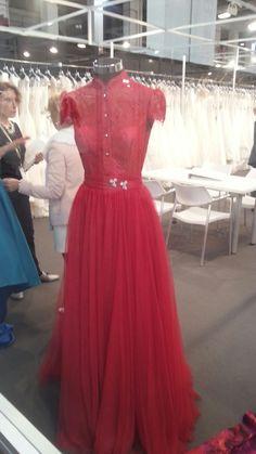 Vestido de fiesta by Pepe Botellas 2017 en Barcelona Bridal Fashion Week 2016.  #vestido #pepebotella #bbfw16 #coleccion2017