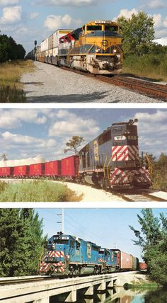 TODAY'S FEC HONORS ITS PAST. FEC's modern, high speed diesel-powered freight trains carry a wide range of products and provide intermodal service from all east coast of Florida ports to points throughout North America, today fulfilling the dreams and promises of the company's founder and builders, more than one hundred years ago.