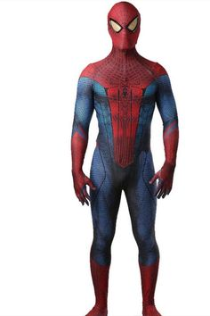 If you are big fan of spider-man, then you can not miss this Zentai Suit from the movie The Amazing Spider-Man. This The Amazing Spider-Man Cosplay Costume features conceal back zip and realistic 3D print. You will not be disappointed. Male Cosplay, Cosplay Costumes, Zentai Suit, Superhero Cosplay, Amazing Spider, Spiderman, Suits, Disappointed, Movies