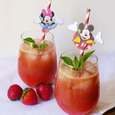 La limonade de fraises de Mickey et Minnie