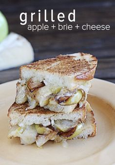 ... with this delicious Pan-Roasted Apple and Brie Grilled Cheese recipe