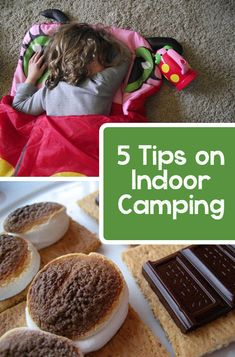 5 Tips on Indoor Camping with Your Children *Great family-fun with the kids on cold nights!