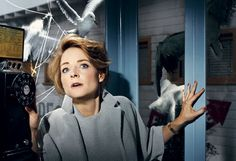The 2008 Hollywood Portfolio, Hitchcock Classics: The Birds, 1963 Jodie Foster. Photograph by Norman Jean Roy.