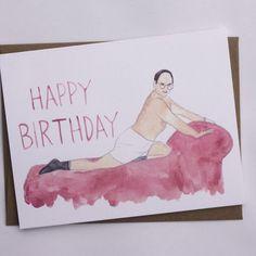George Costanza // Seinfeld Birthday Card