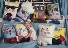 Pillow People | 10 Totally Forgotten '80s Girl Toy Lines...someone totally gave me one of these when I was 4 to hit when I got mad.