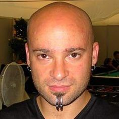 David Draiman, singer of Disturbed. There's more than just good vocals to enjoy here ;)