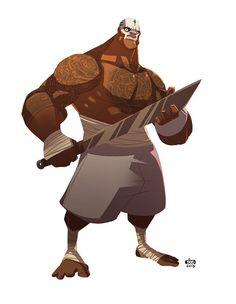 Pirate by Ido Yehimovitz — Character design