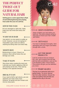 The Perfect Twist-Out Guide For Natural Hair