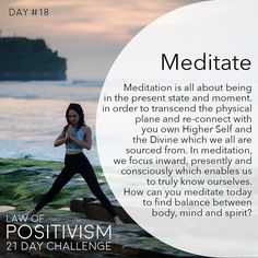 """721 Me gusta, 9 comentarios - Law Of Positivism (@law_of_positivism) en Instagram: """"Day 18 - Meditation can mean so many different things to different people and different places.…"""""""