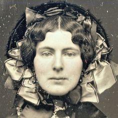 Born in 1808: 1850s bonnets in detail daguerreotype?